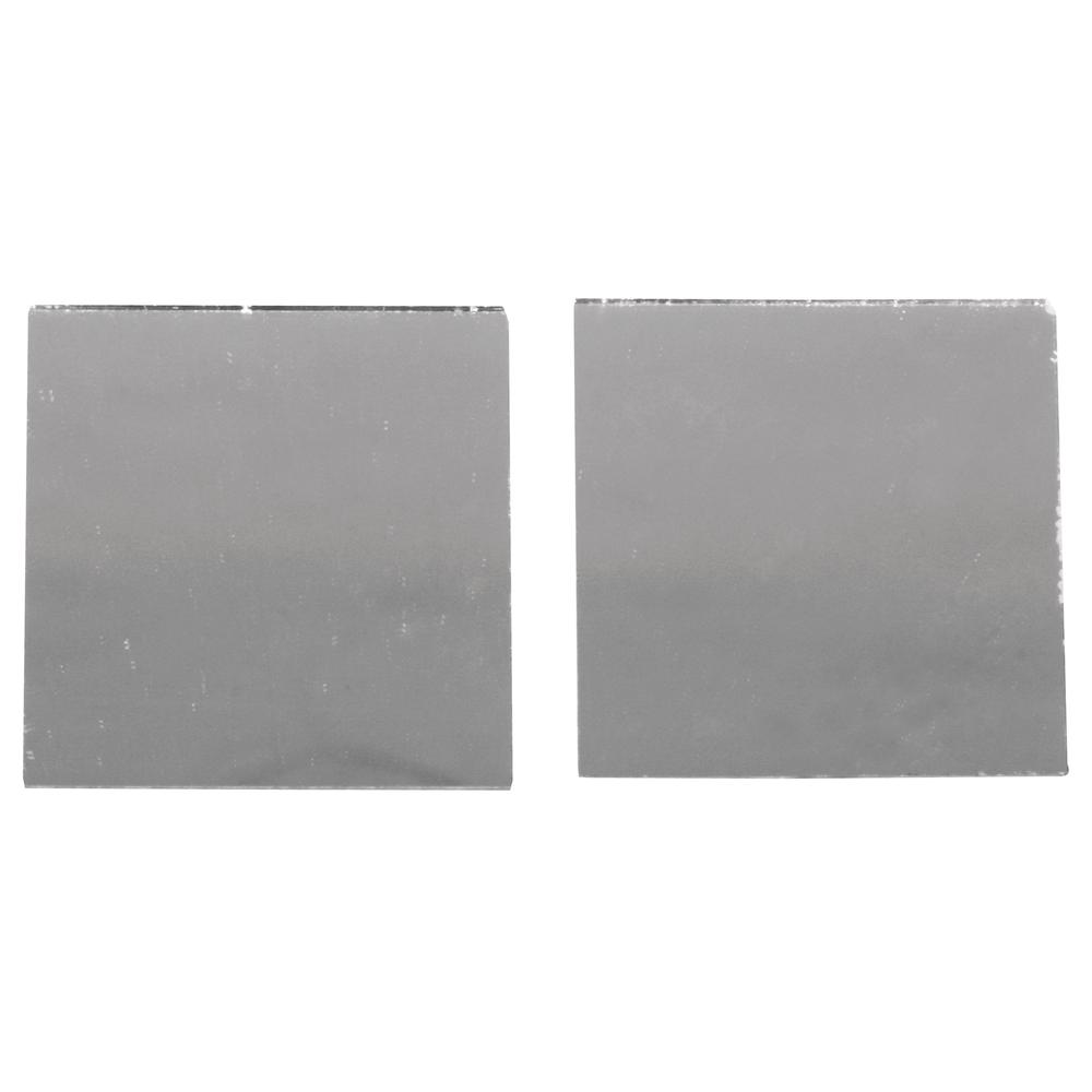 Spiegelmosaik, selbstklebend., 2x2cm, SB-Btl 50Stück, silber