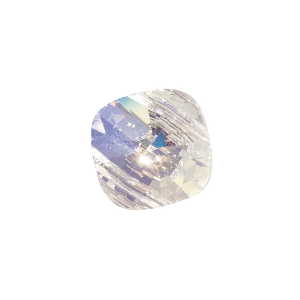 Swarovski-Kristall-Schliffp.Squuare Bead, 14x14mm, SB-Btl 1Stück, mondstein