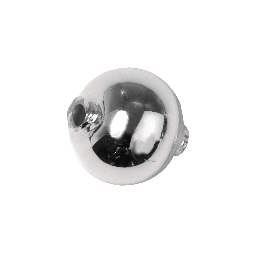 Glas-Rundperlen, 12 mm ø, Dose 10 Stück