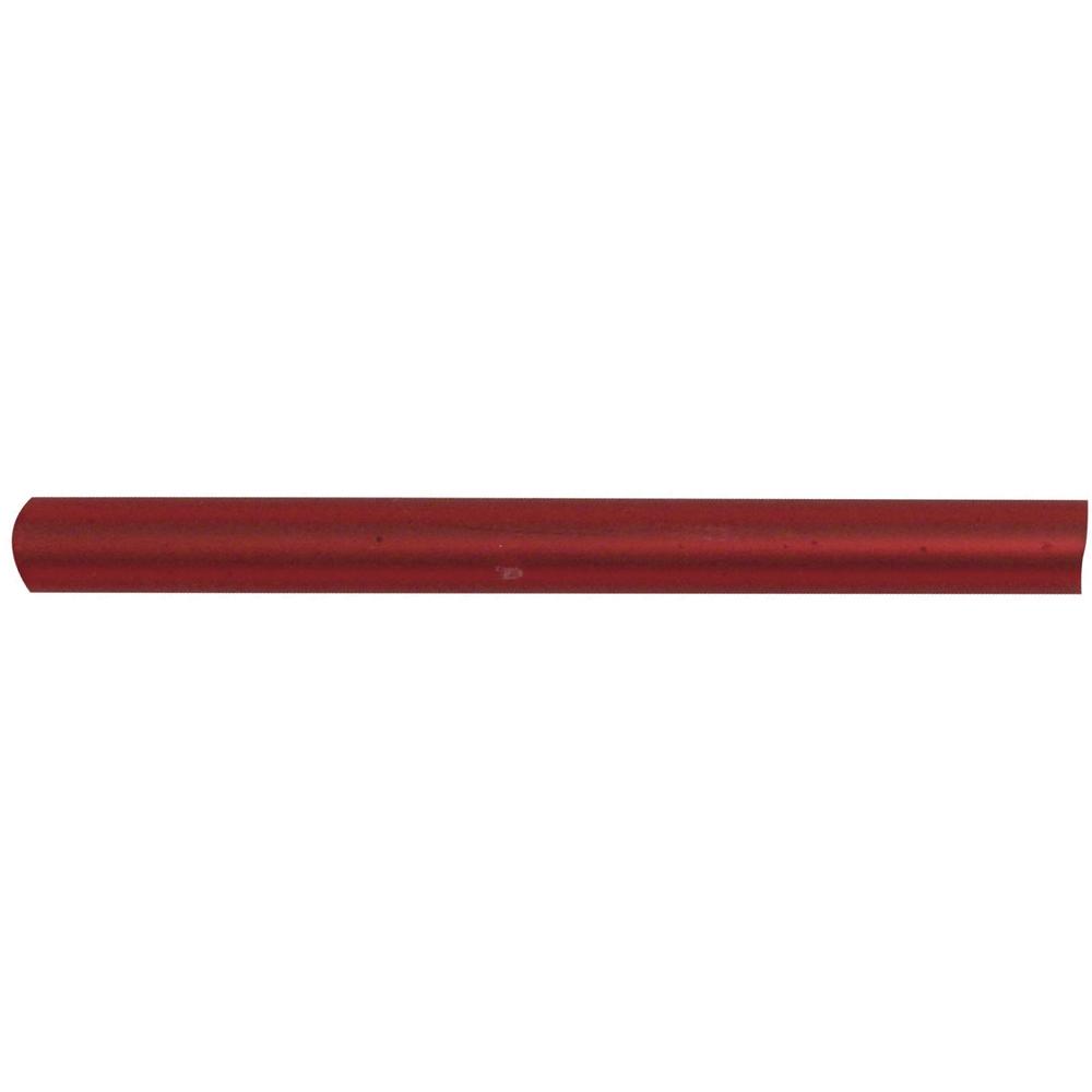Glas-Stifte, matt, 2x30 mm, Dose 16 Stück, rot