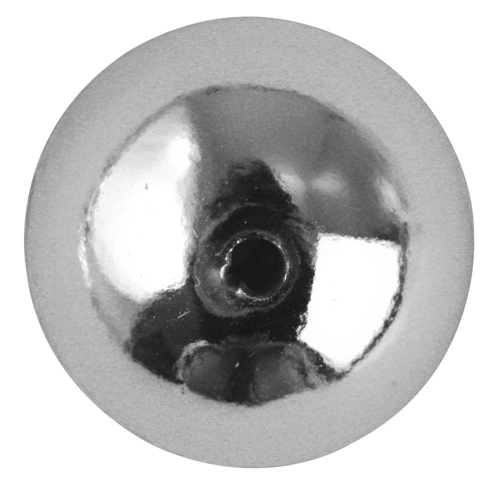 Plastik-Rundperlen, 4 mm ø, SB-Btl. 80 Stück