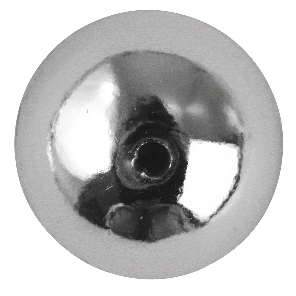Plastik-Rundperlen, 6 mm ø, SB-Btl. 35 Stück
