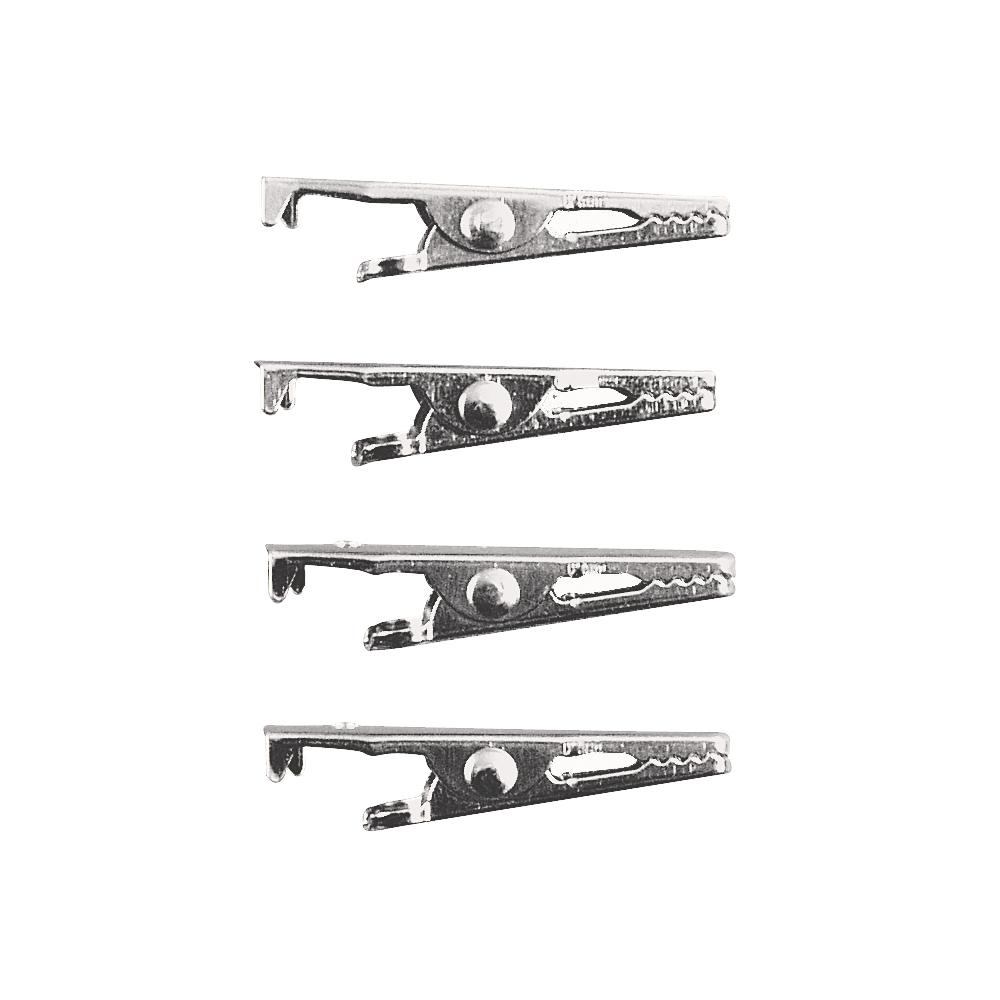 Krokodil-Klammer, 39 mm, SB-Btl. 4 Stück