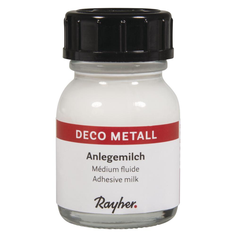 Deco-Metall-Anlegemilch, 25 ml / Flasche, SB-Btl 1Flasche