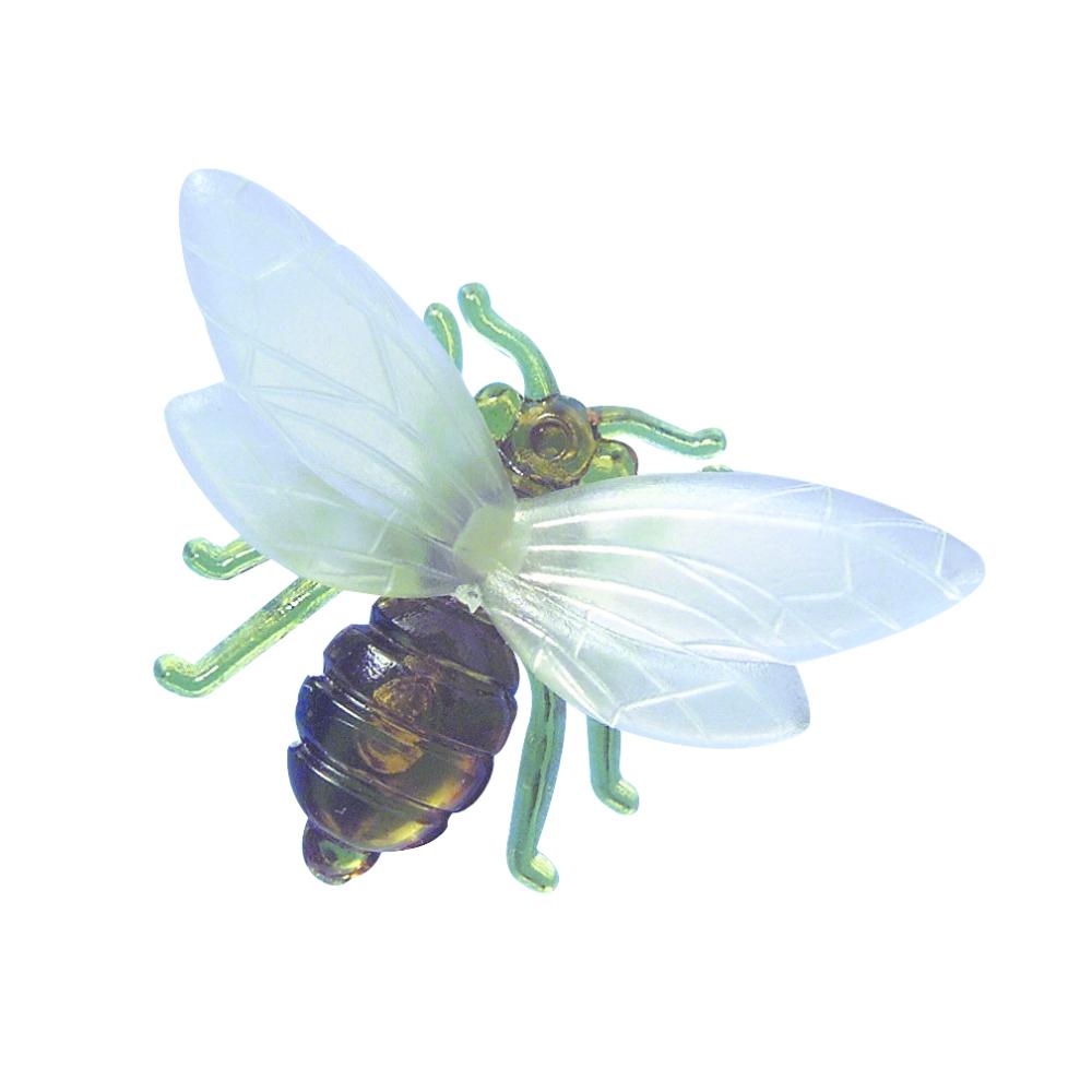 Plastik-Biene für Bienenwachskerzen, SB-Btl. 3 Stück