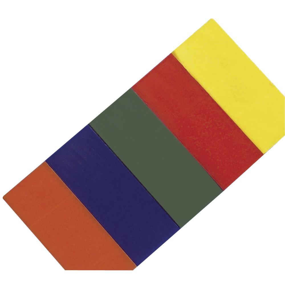 Modelierwachs-Set, 5 Farben, 20x10x0,5cm, SB-Btl 1Set