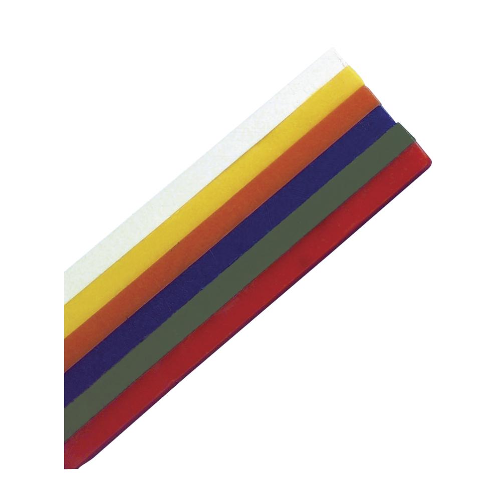 Knetwachs-Set, 6 Farben, 18x1x1cm, SB-Btl 1Set