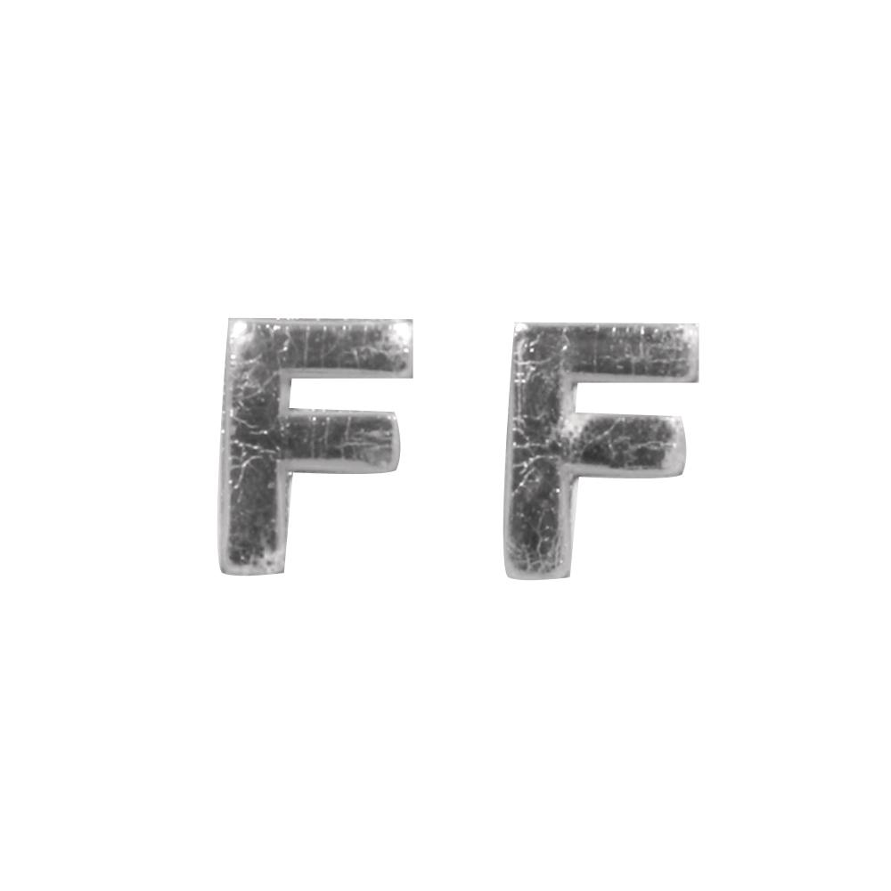 Wachsbuchstaben -F-, 9mm, SB-Btl 2Stück