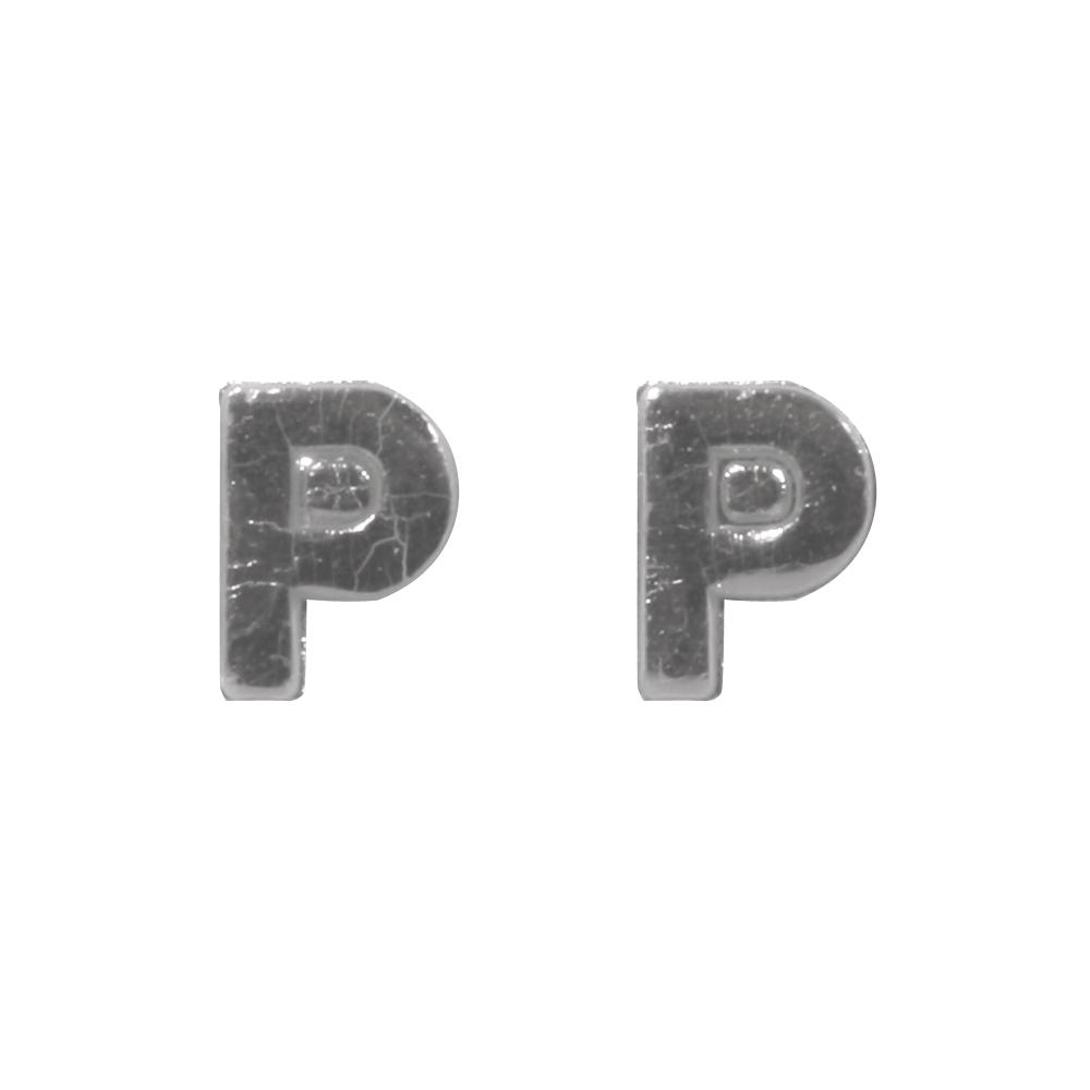 Wachsbuchstaben -P-, 9mm, SB-Btl 2Stück