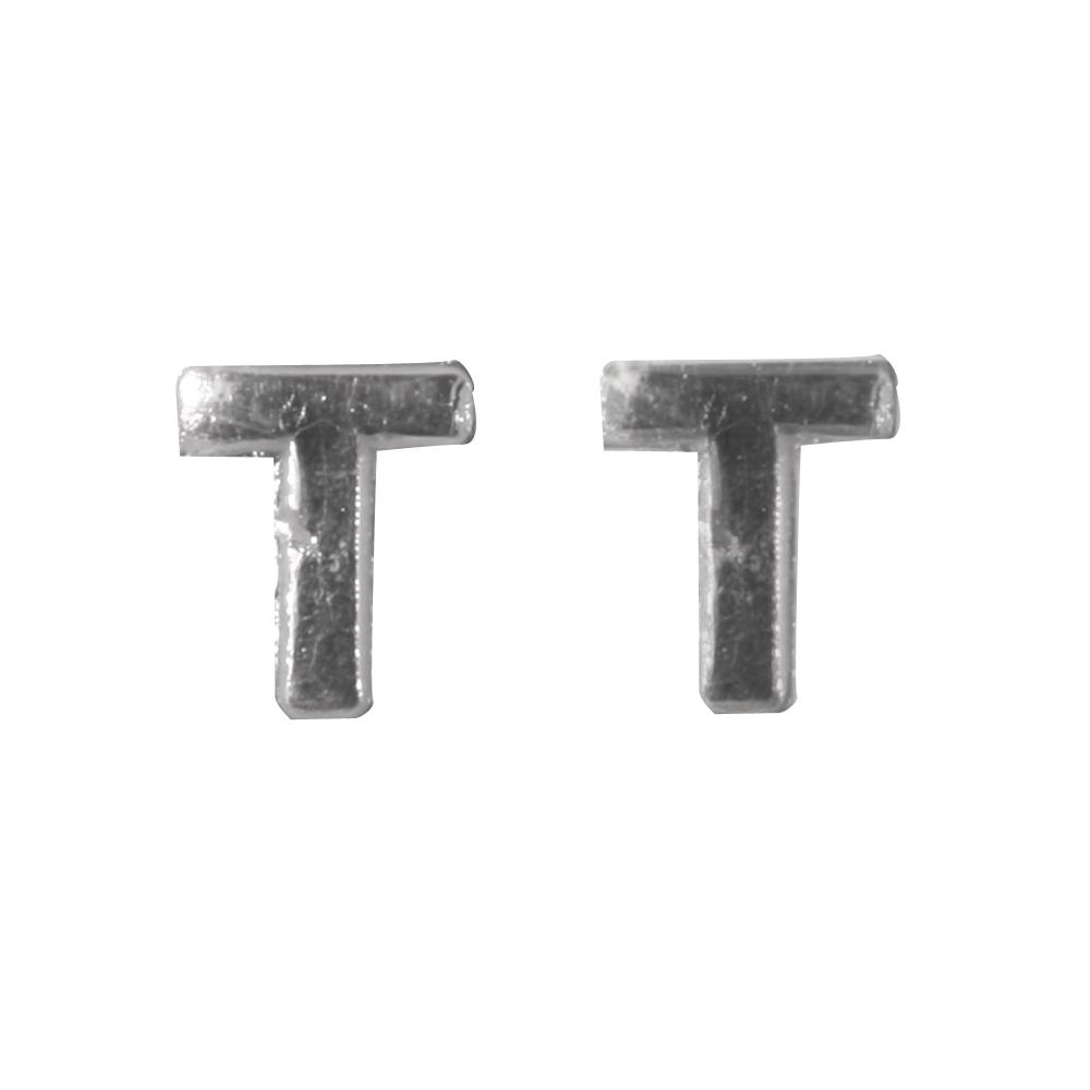 Wachsbuchstaben -T-, 9mm, SB-Btl 2Stück