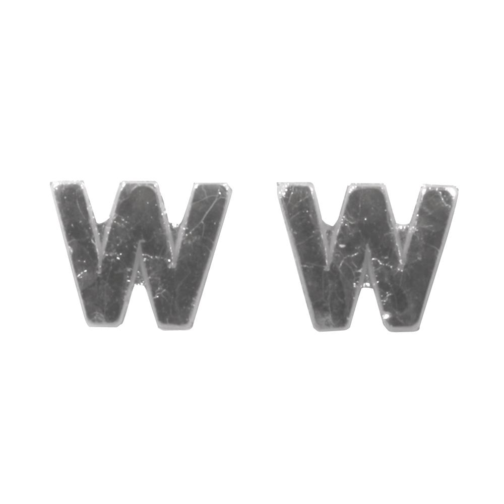Wachsbuchstaben -W-, 9mm, SB-Btl 2Stück