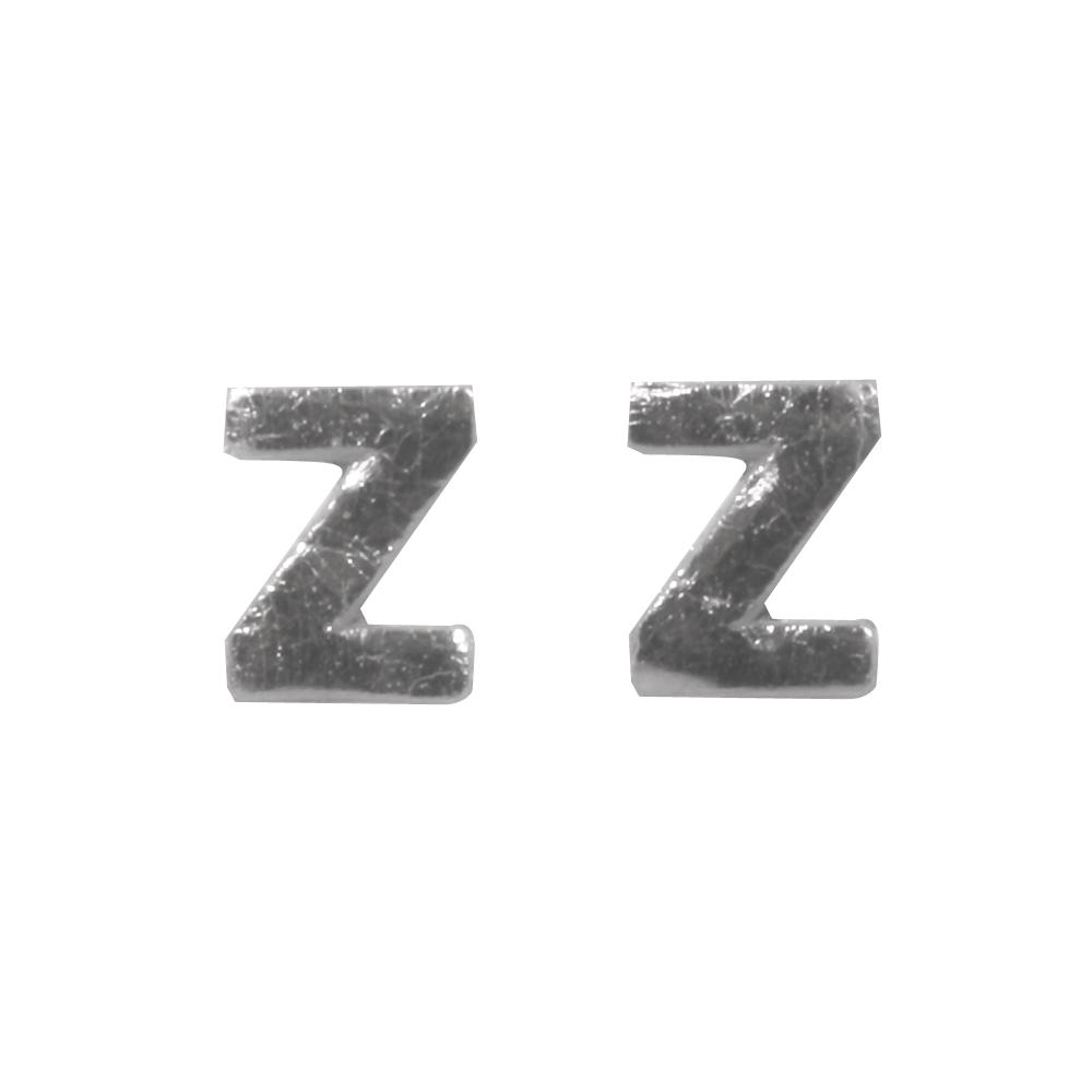 Wachsbuchstaben -Z-, 9mm, SB-Btl 2Stück