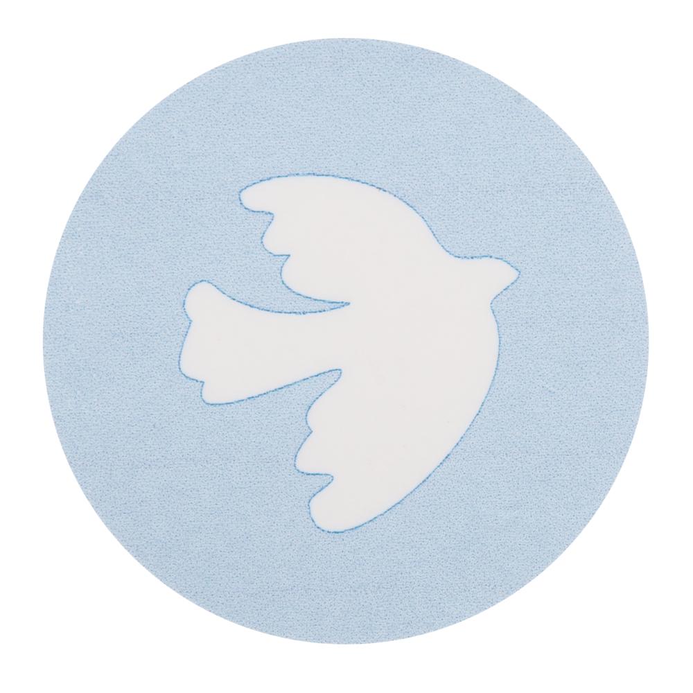 Wachsmotiv: Taube, 3,7cm ø, SB-Btl 1Stück