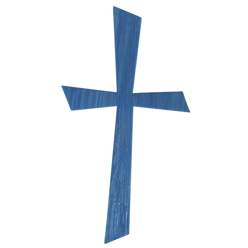 Wachsmotiv Kreuz, 10,5x5,5cm, SB-Btl 1Stück