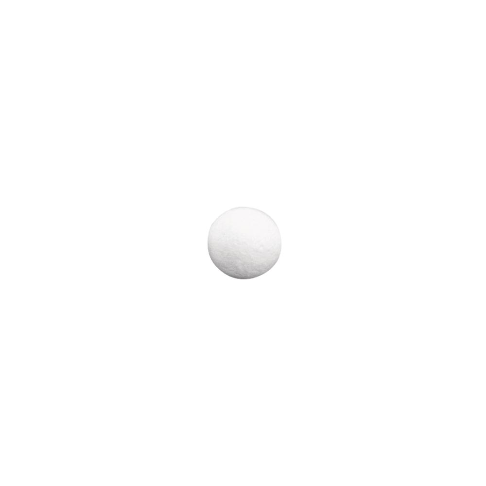 Wattekugeln, weiß, 20 mm ø, SB-Btl. 35 Stück