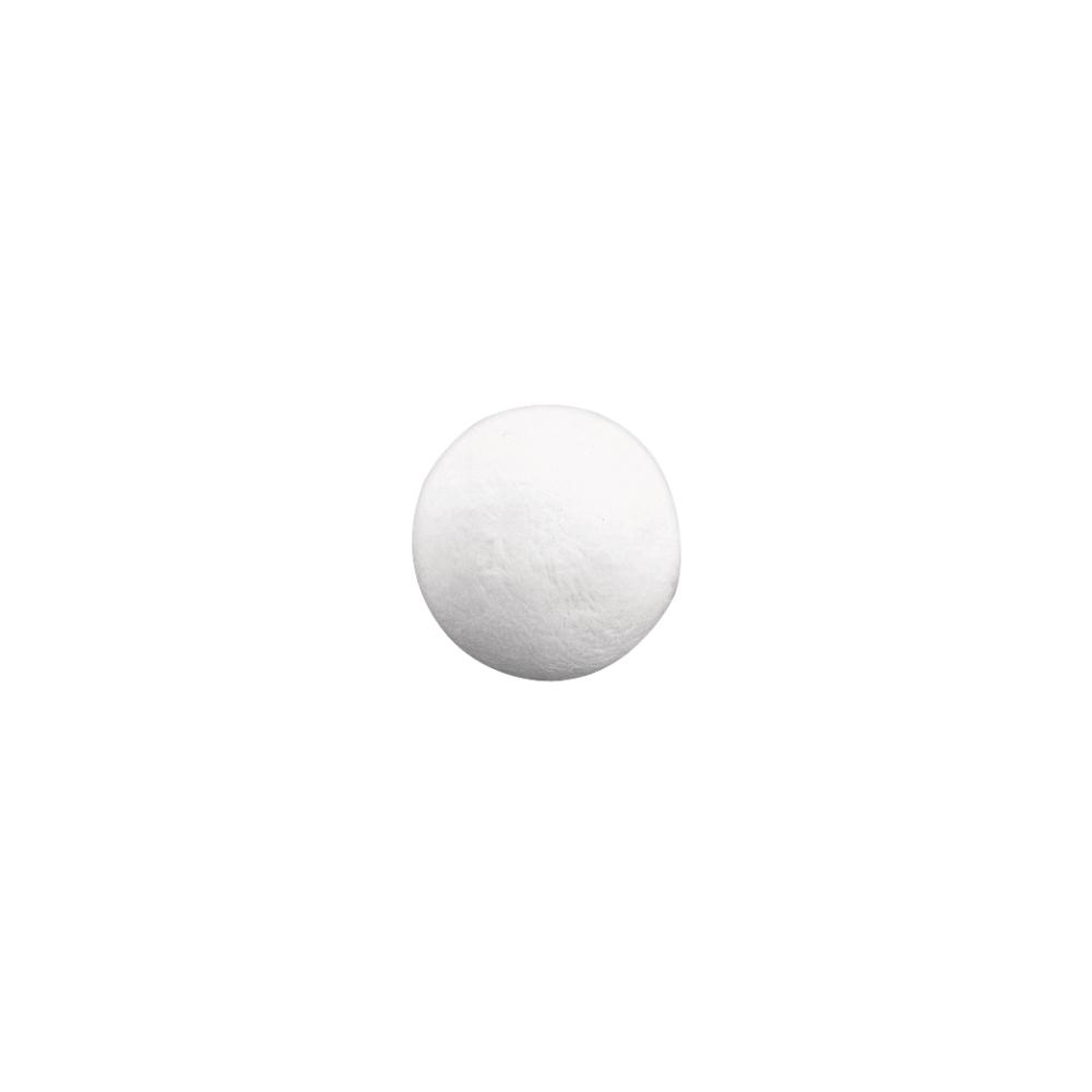 Wattekugeln, weiß, 35 mm ø, SB-Btl. 11 Stück