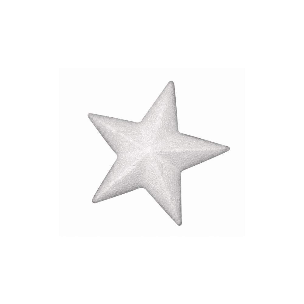 Styropor-Stern, 10 cm, Kleinabnahme