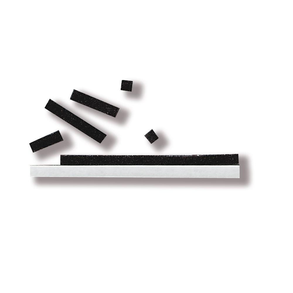 3D-Klebekissen, 3x100 mm, 2 mm stark, SB-Karte: Platte 10x10 cm