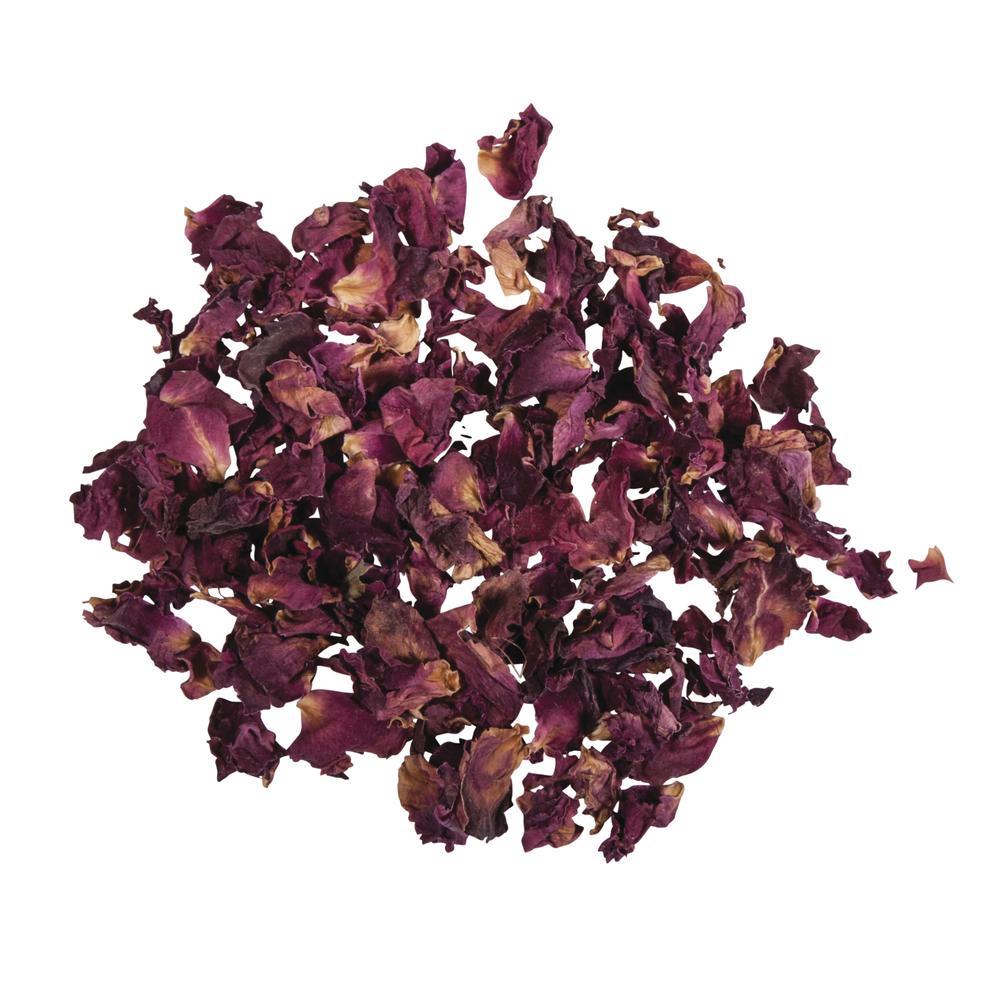 Blüten - Rosenblütenblätter rot, SB-Btl 3g