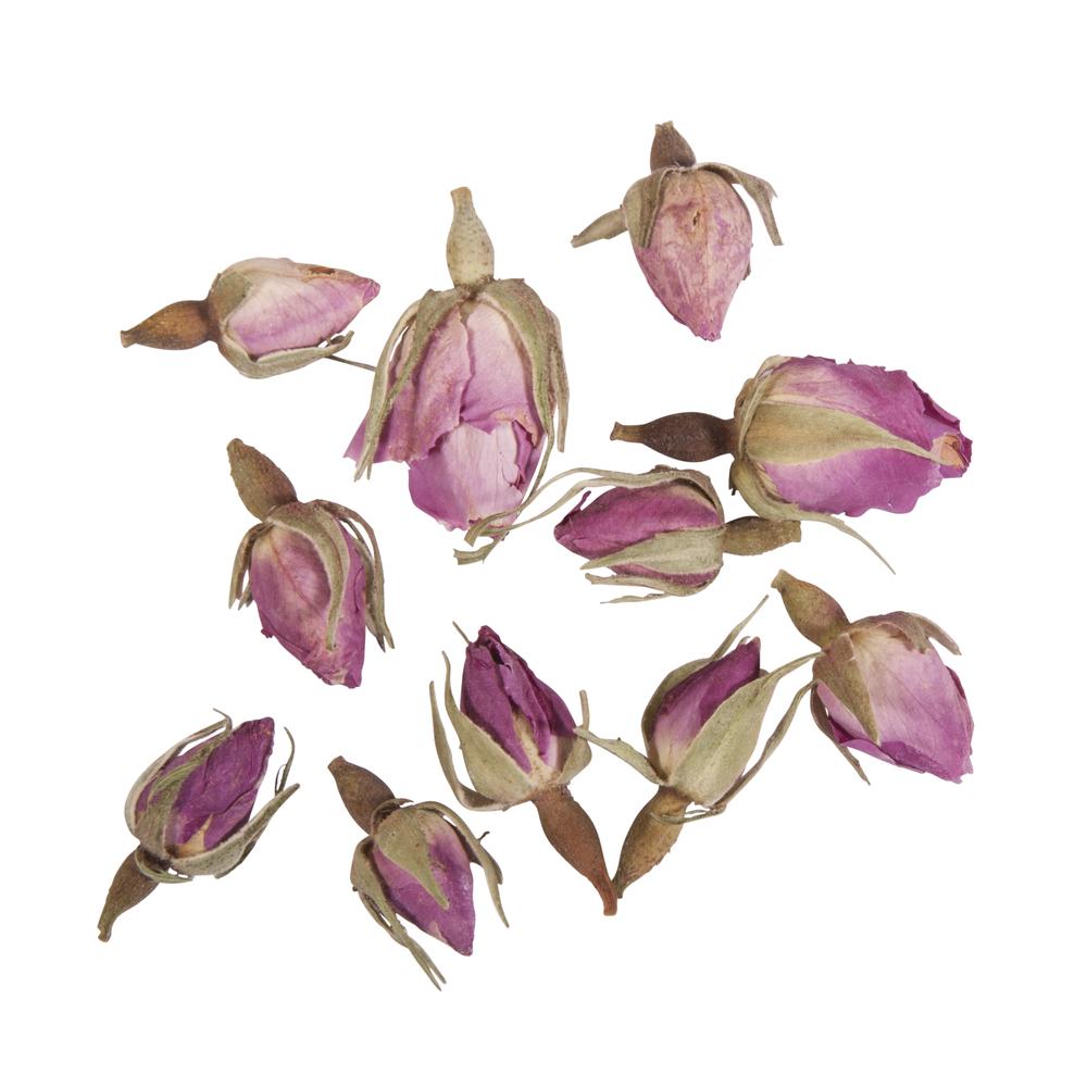 Blüten - Rosenknospen rosa ganz, SB-Btl 7g