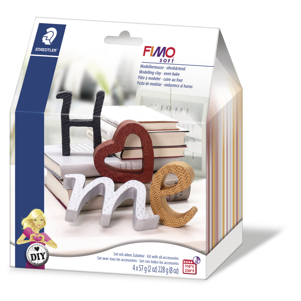 Fimo DIY Homedeco Letters, SB-Box