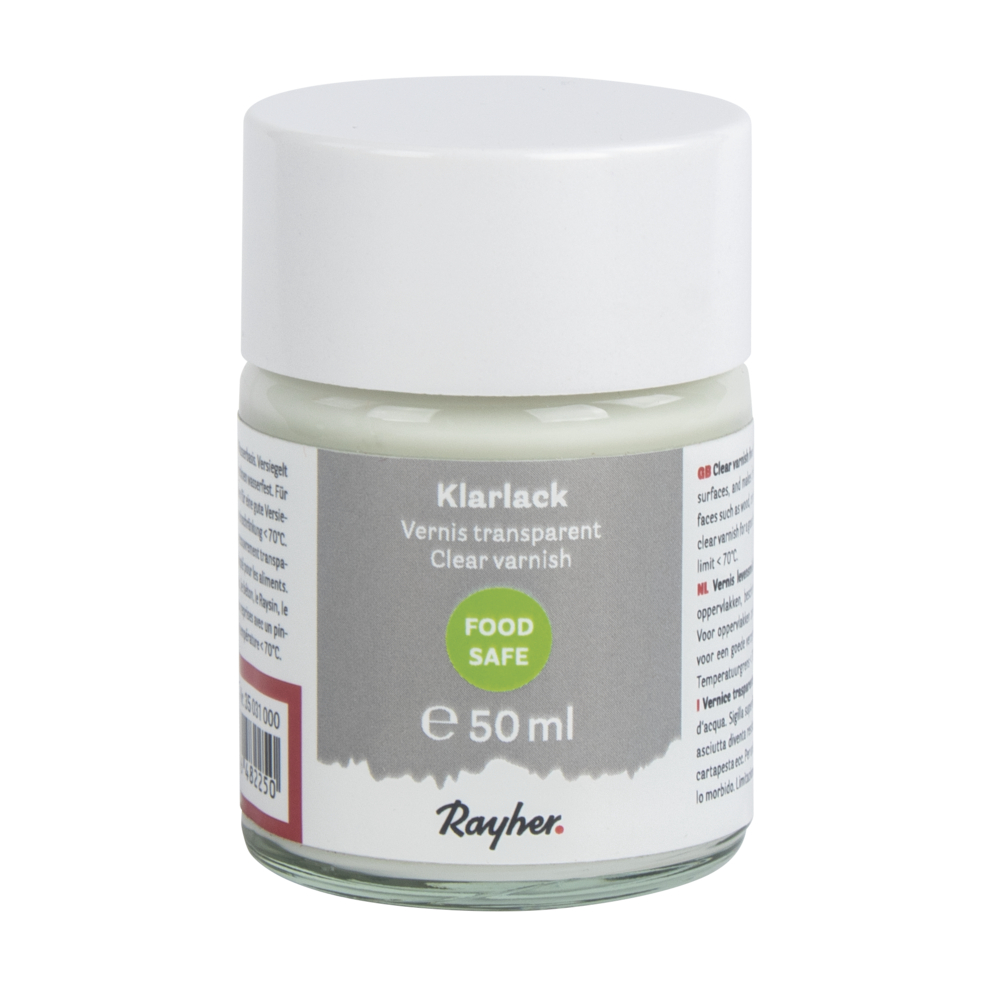 Klarlack food-safe, Dose 50ml