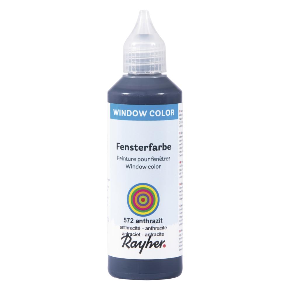 Fensterfarbe  easy paint , Flasche 80 ml