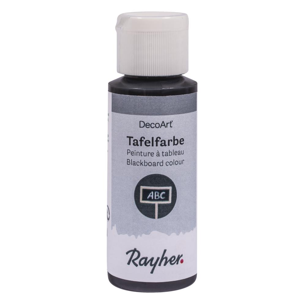 Tafelfarbe schwarz, Flasche 59 ml