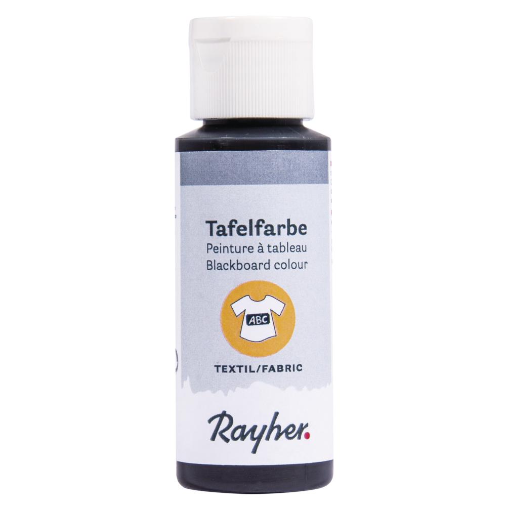 Tafelfarbe Textil, Flasche 50ml, schwarz