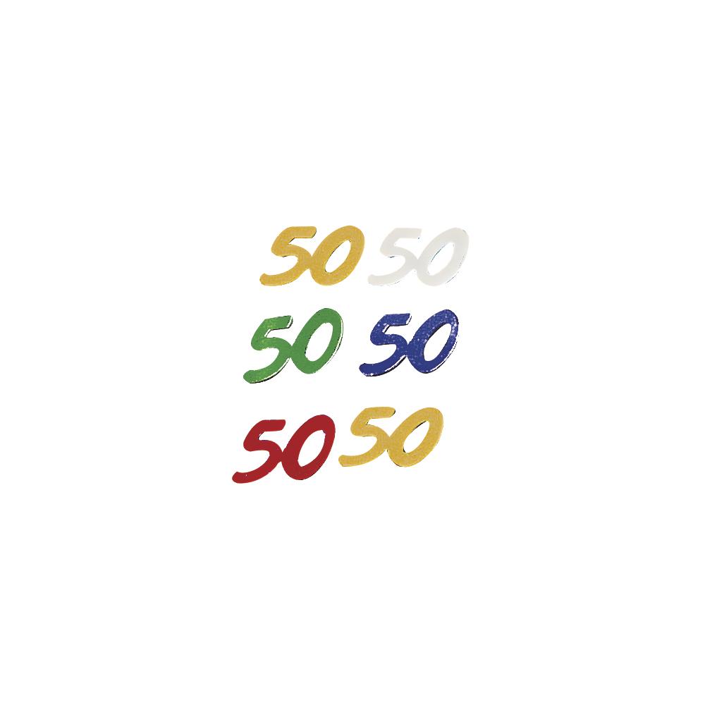 Jubiläums-Pailletten,  50 , SB-Btl. 12 g