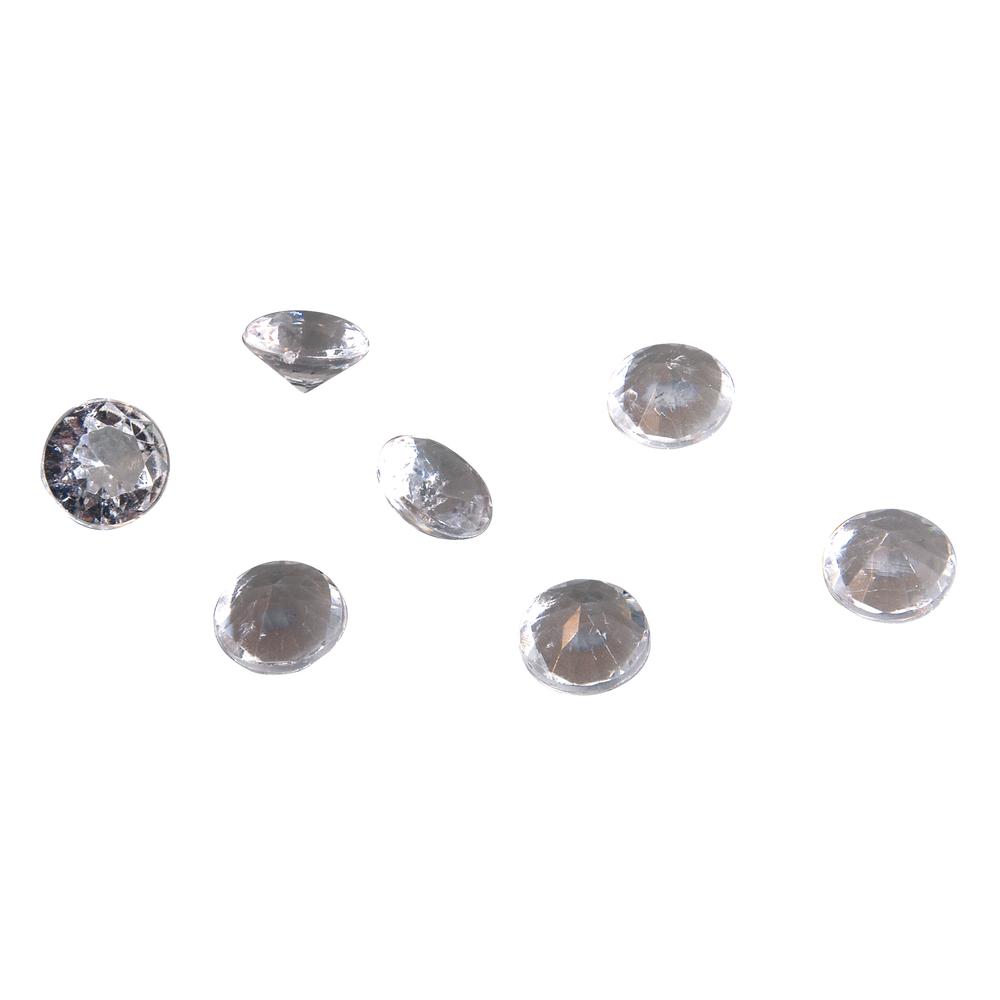 Acryl Streuteile Diamant, 12mm ø, Dose 55g