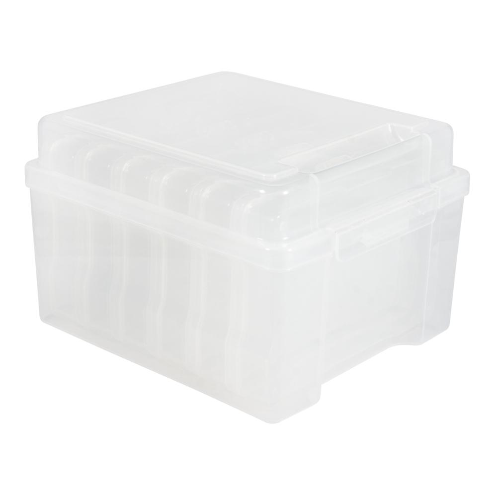 Aufbewahrungsbox m. 6 Innenboxen, 210x185x140mm