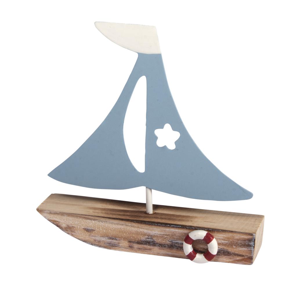 Deko-Segelboot, 10,5x11x2,5cm