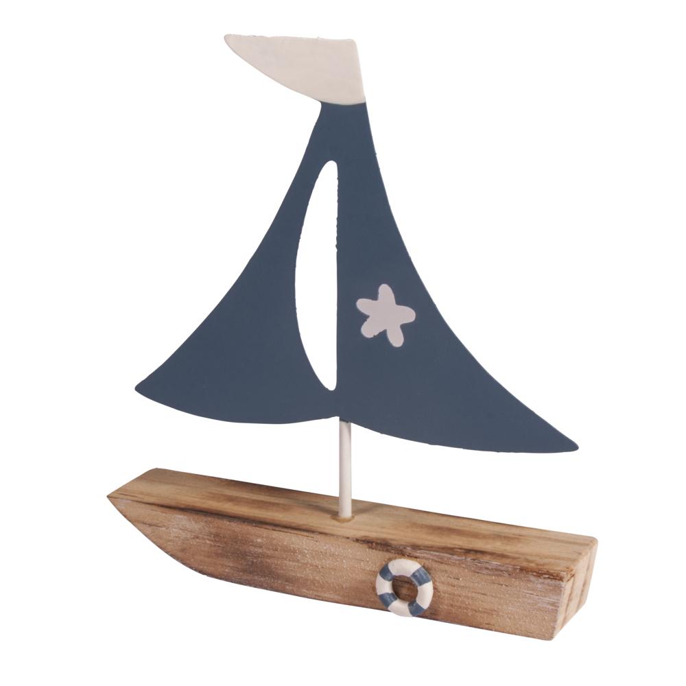 Deko-Segelboot, 14x15,5x2,7cm
