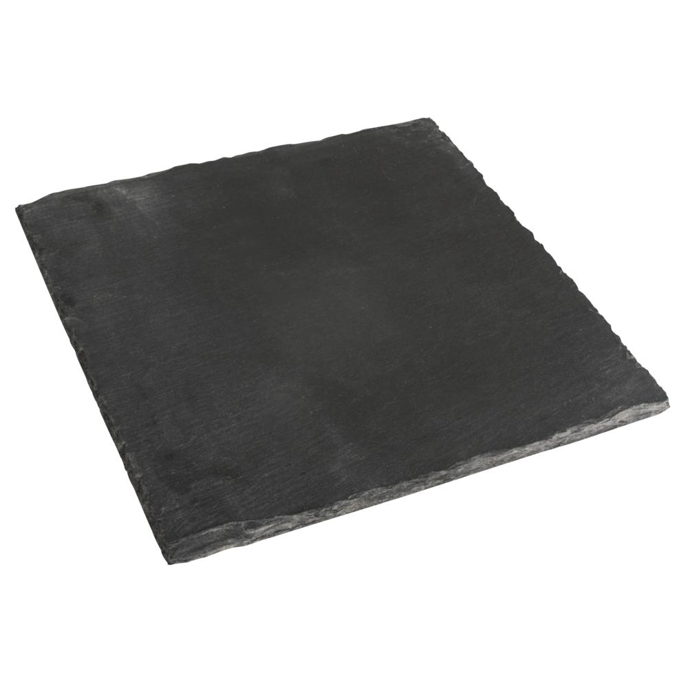 Schiefer Platte, 20x20cm