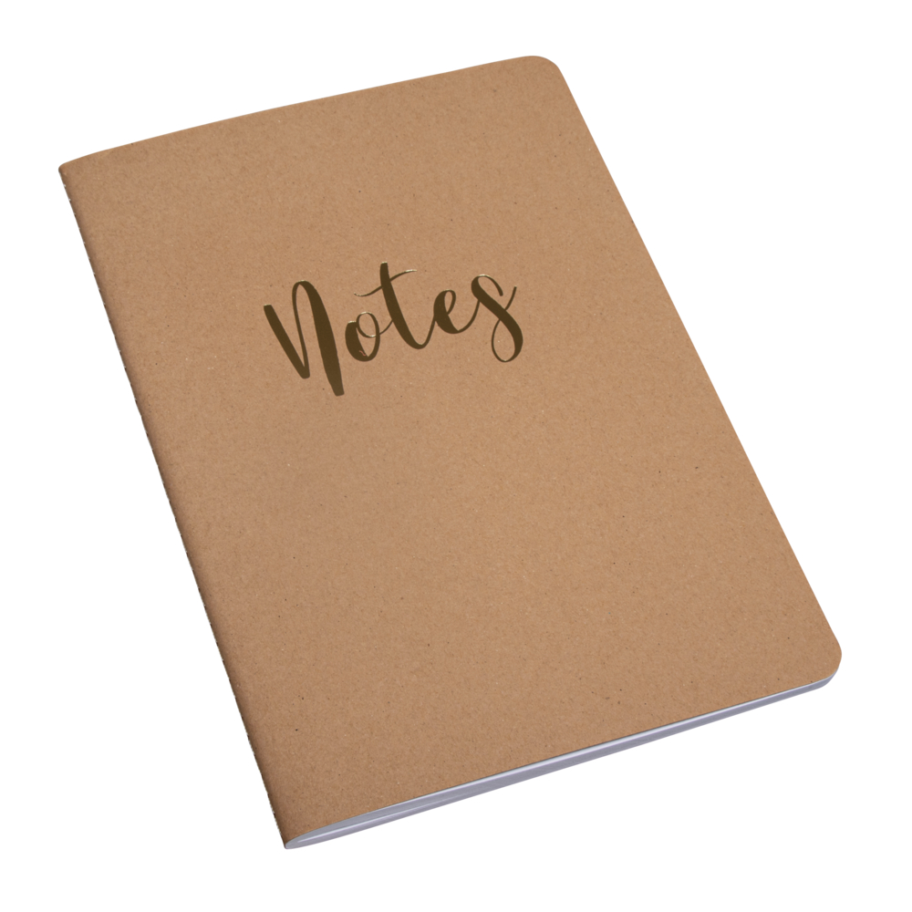 Booklet Notes,FSC Mix Credit, A5, 60 Blatt, liniert, 80 g/m², kraft