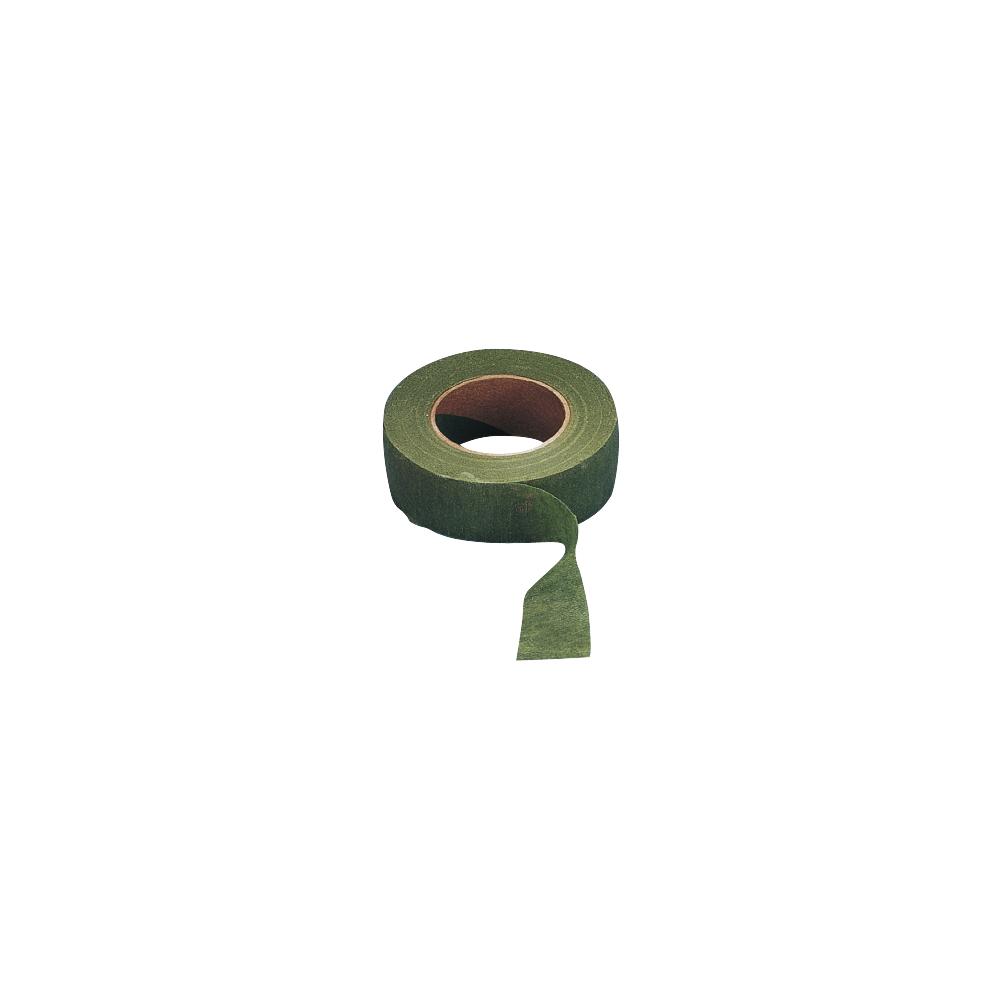 Flora-Kreppband, 26 mm, Rolle 27,5 m, oliv