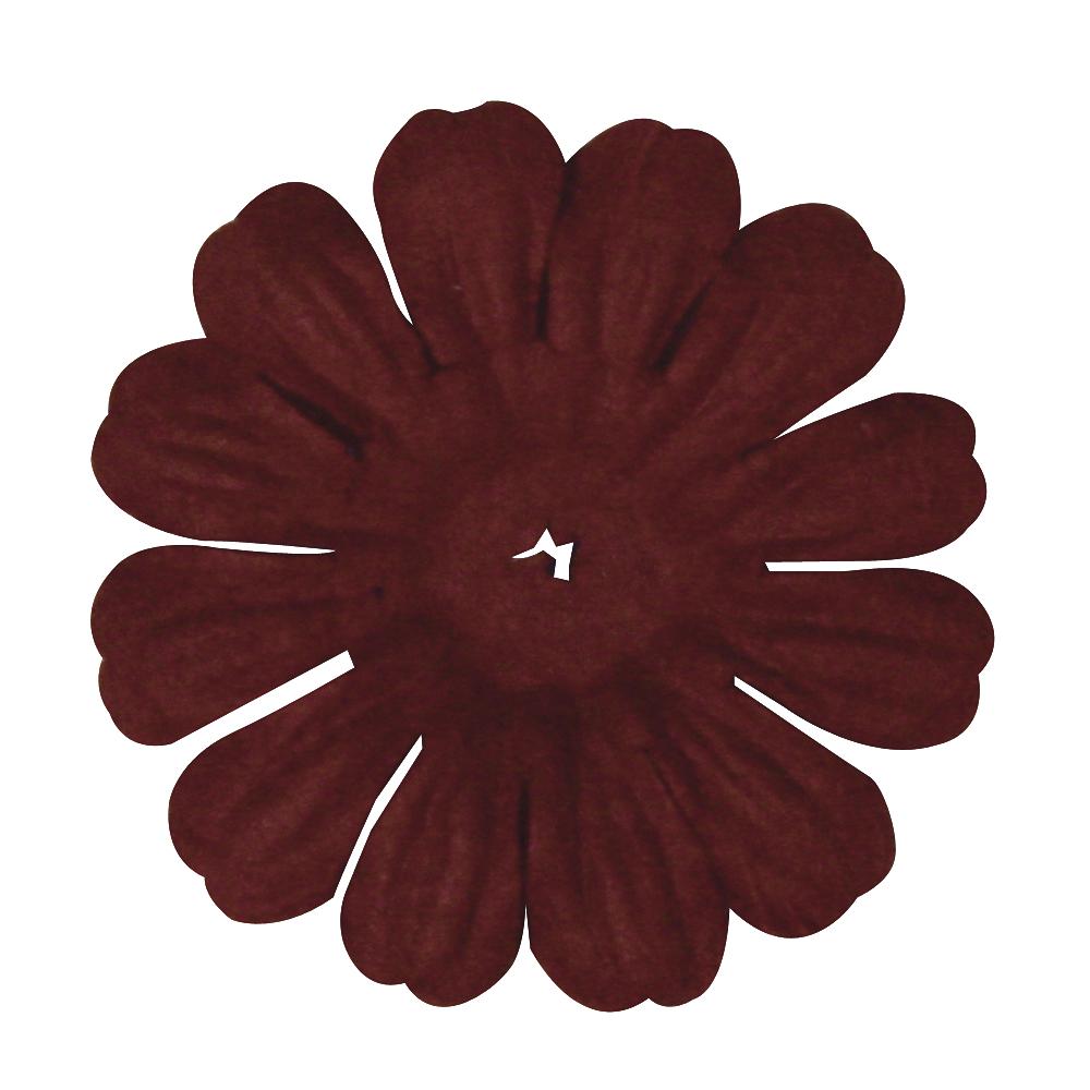 Papier-Blüte, 3 cm, SB-Btl. 12 Stück