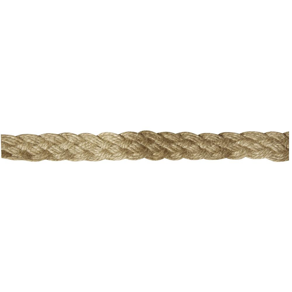 Leinen Band, 1,5cm, Holz-Karte 2m