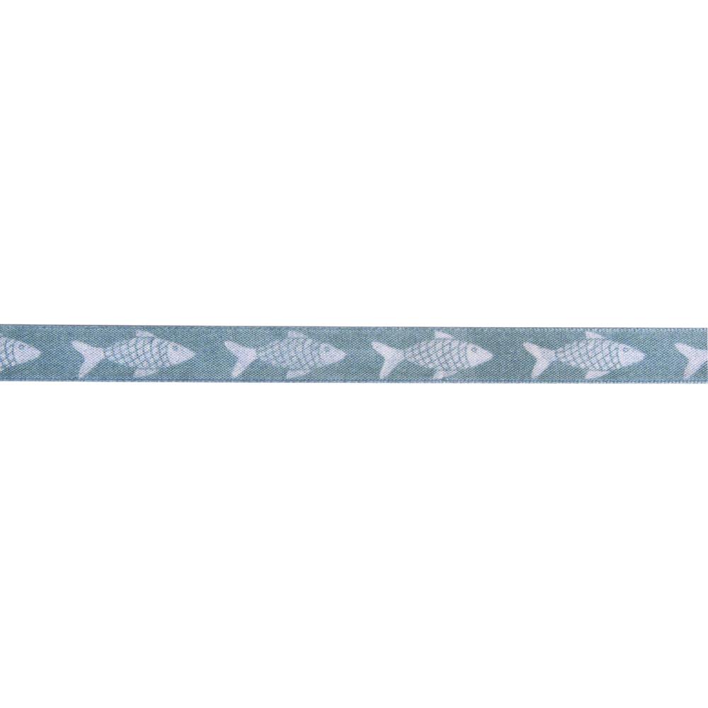 Dekoband Norderney, 15mm, Rolle 20m