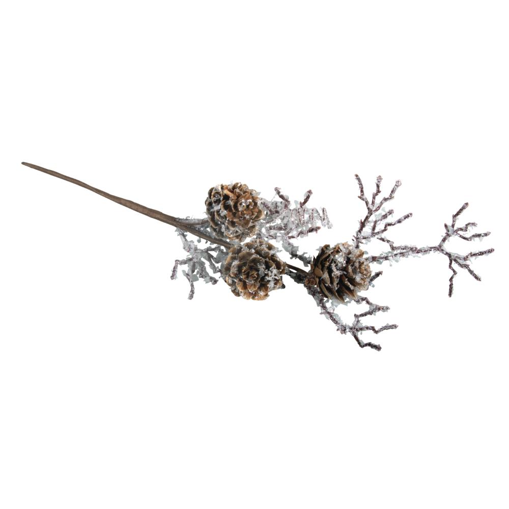 Lärchenzapfenzweig, 26cm