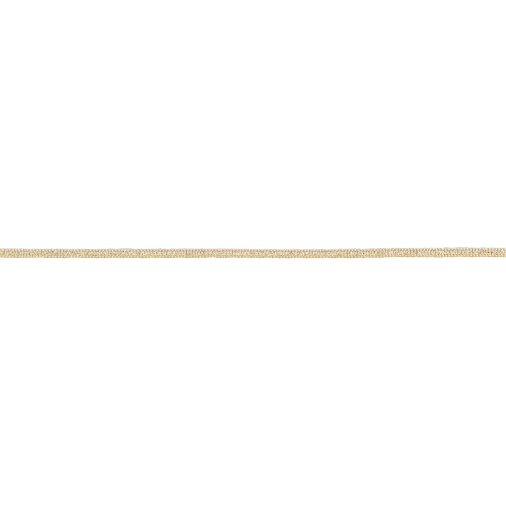 Dekokordel Lamé, 3mm, Rolle 100m, gold