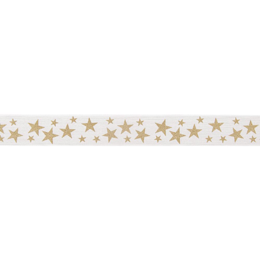 Dekoband Stars, 40mm, Rolle 20m