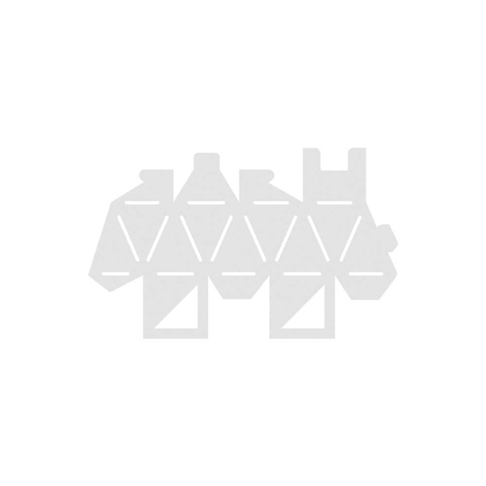Schablone, Verpackung Kubus, 22,5x13,5cm, SB-Btl 1Stück