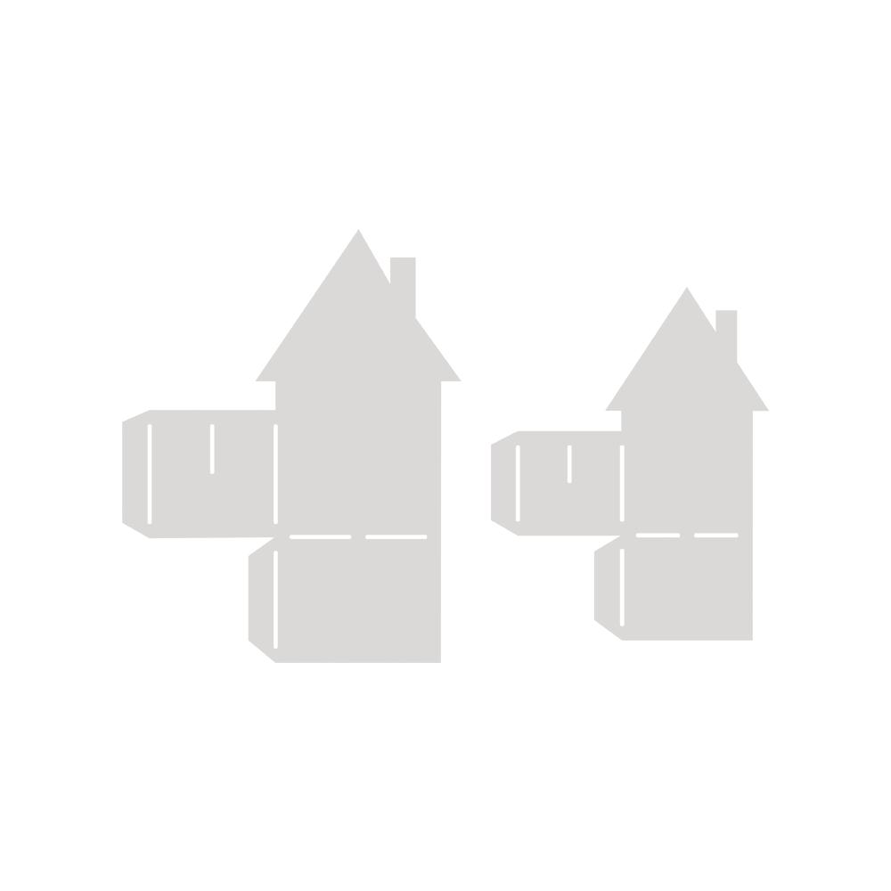 Papierschablone, Häuser, 2 Größen, SB-Btl 2Stück