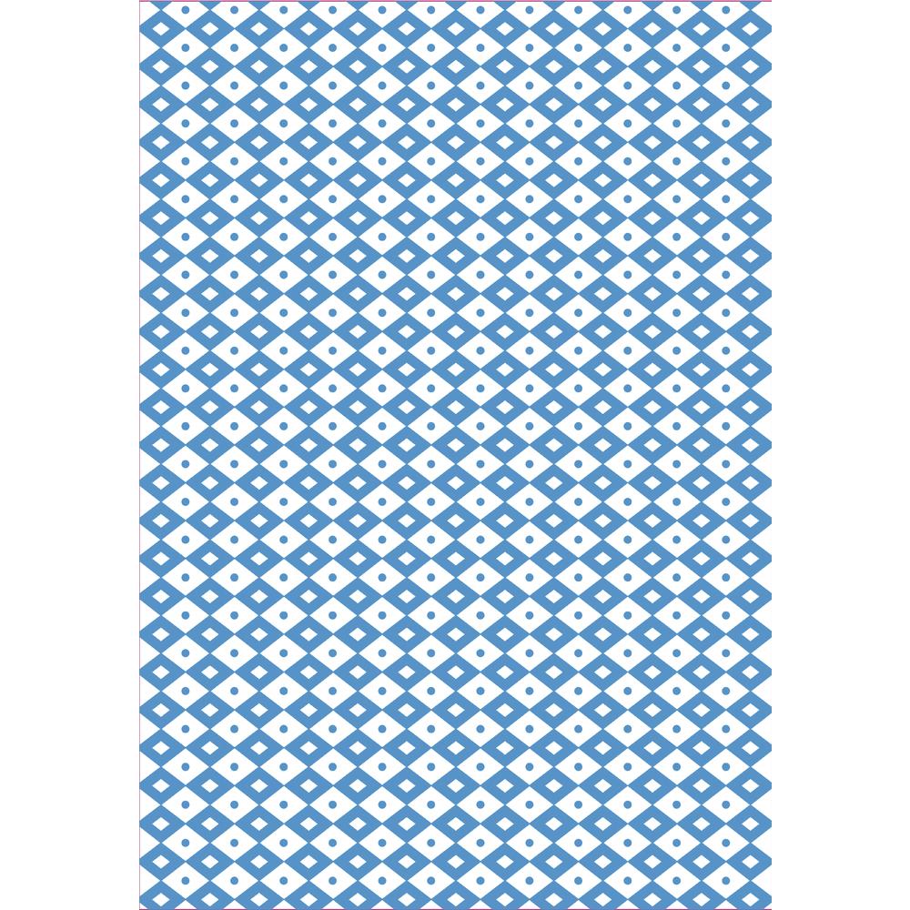 Sizzix Text. Impress. Plus Emb. Folders, Field of Diamonds, SB-Blister, 20,96x29,85cm