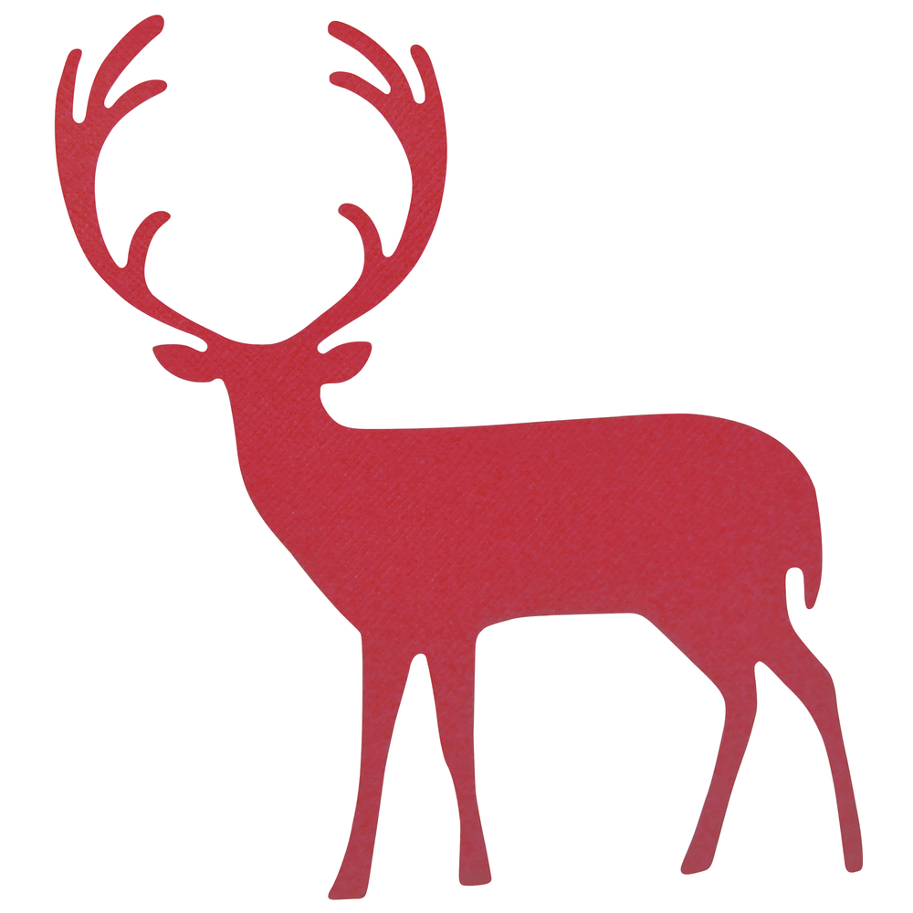 Sizzix Bigz - Proud Deer, SB-Blister, 13,97x15,24cm