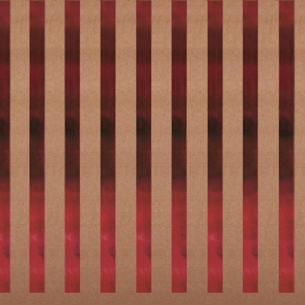 Scrapbookingpapier Kraft -Streifen, 30,5x30,5cm, 180g/m2