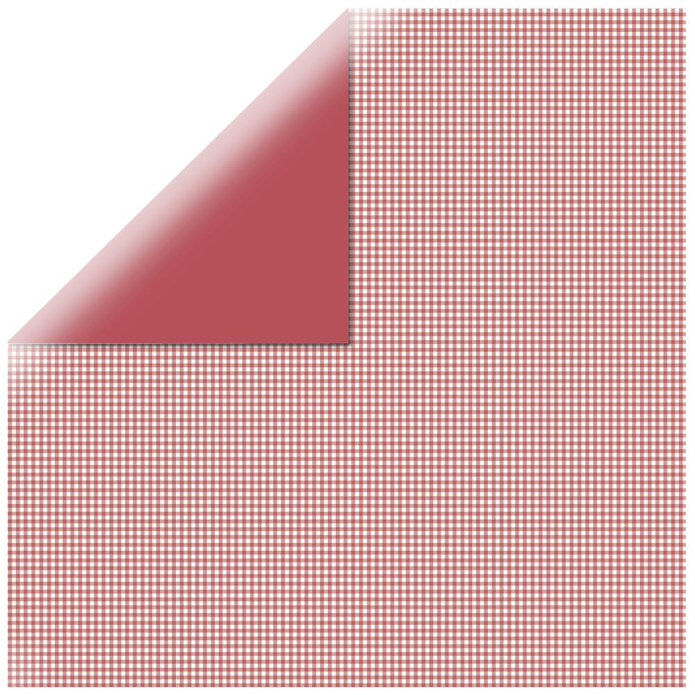 Scrapbookingpapier kariert, 30,5x30,5cm, 190g/m2