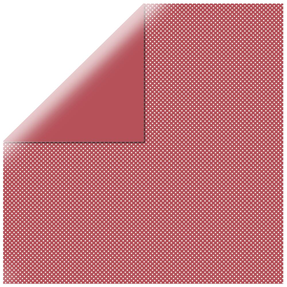 Scrapbookingpapier gepunktet, 30,5x30,5cm, 190g/m2